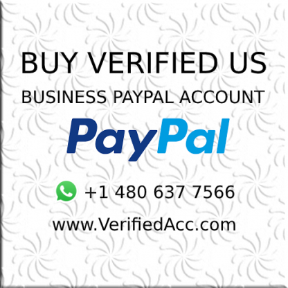 Buy Verified US Business Paypal Account