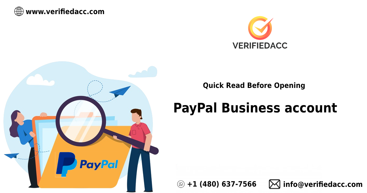 How To Open PayPal business account