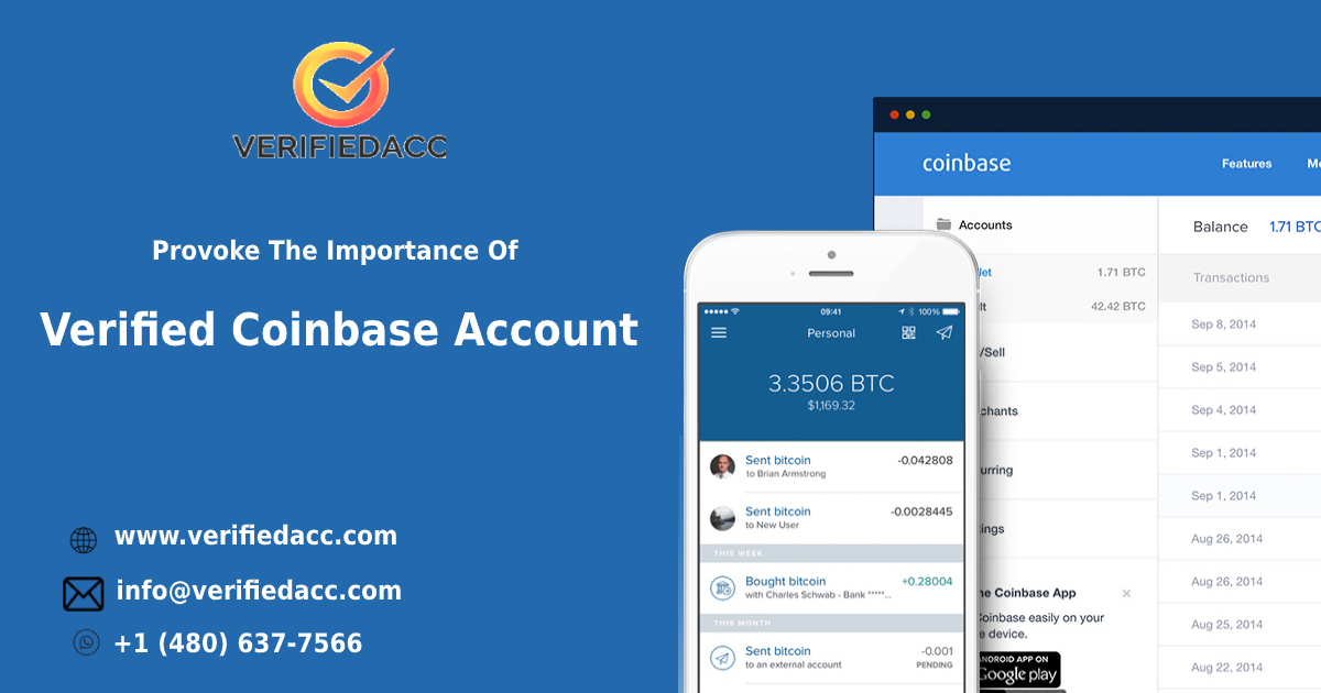 verified coinbase account