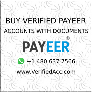 Buy Fully Verified payeer Account