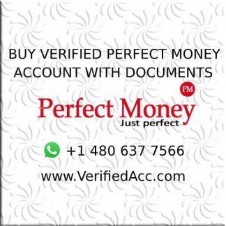 Buy Fully Verified PerfectMoney Account