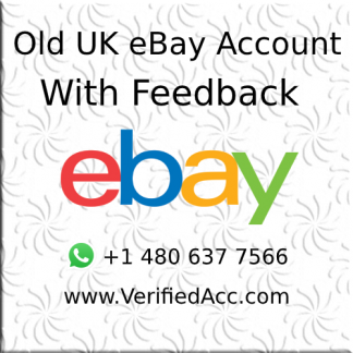 Buy Verified UK eBay Account