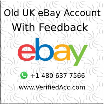 Buy Verified UK eBay Account