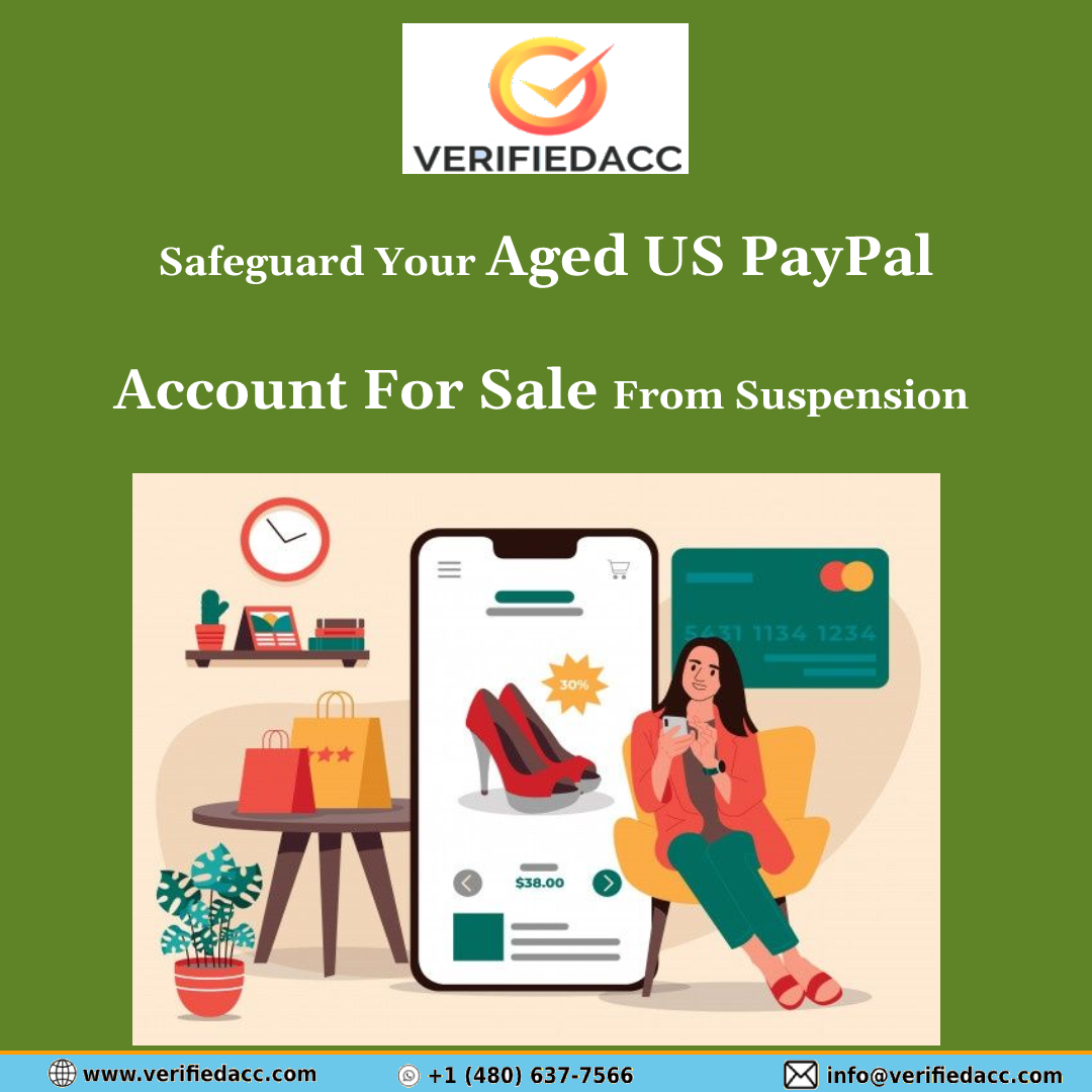 old US PayPal account for sale